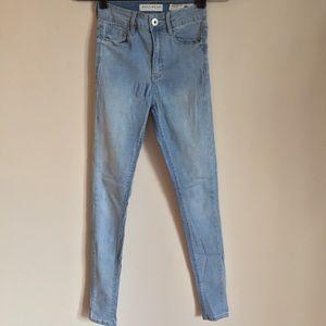 PacSun Bullhead Light Wash Denim Skinny Jeans