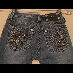 Miss me girl jeans sz 10