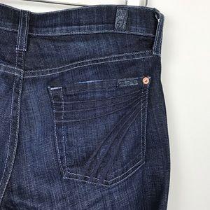 [7 For All Mankind] Dojo Jeans New York Dark 26