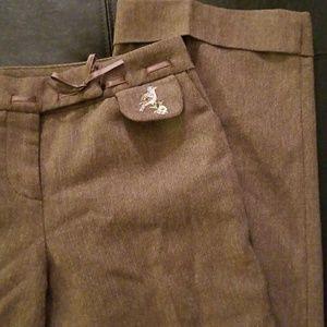 Anthropologie Elevenses Wool Pants