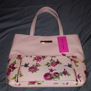 NWT 2 in 1 Betsey Johnson tote