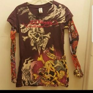 Ed Hardy by christian audigier shirt