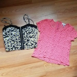 Forever21 and Delias tops bundle