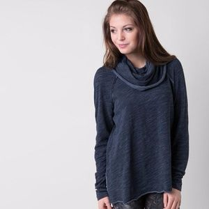 Free People Beach Cocoon Cowl Pullover Top