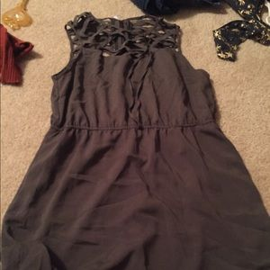 Maurice's size XL army green dress