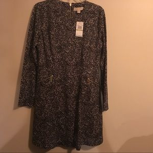 MICHAEL MICHAEL KORS SIZE 14 DRESS NWT BLACK