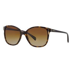 Prada PR 01OS Tortoiseshell Sunglasses