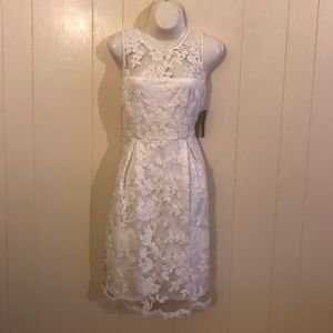 NWT DONNA RICCO white evening gown 2