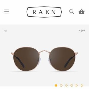 Raen Benson Sunglasses - Rose gold