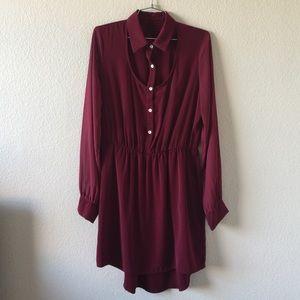 Fall High Low Dress