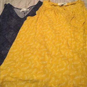 2 Old Navy Maternity Sleeveless V-neck XL Tops