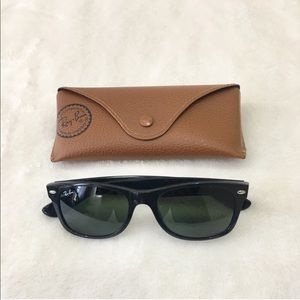 Authentic Ray Ban Wayfarer - 55 mm
