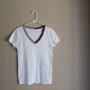 Vintage Tommy Hilfiger White Tee Shirt