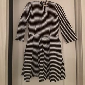 NWT Gap striped fit and flare dress