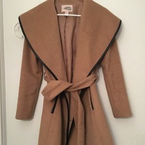 FOREVER 21 Camel Coat