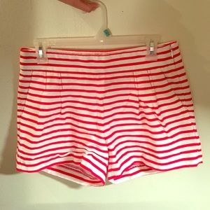 J. Crew Striped shorts