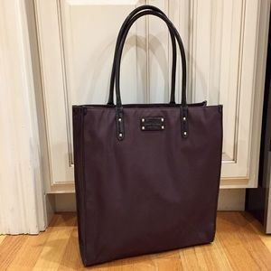 Kate Spade nylon and patent leather tote