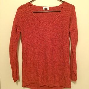 Rust Orange Sweater