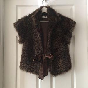Calvin Klein Faux Fur Vest