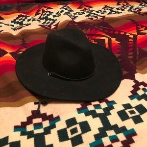 Brixton hat - black small