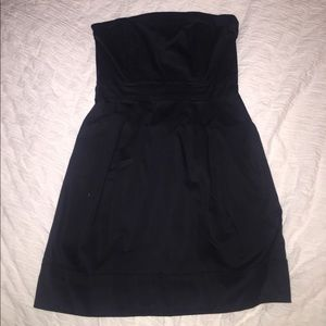 French Connection sz 2 Strapless Black Dress!