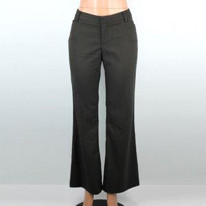 Gap Perfect Trouser Brown Pinstripe Pants - 8R