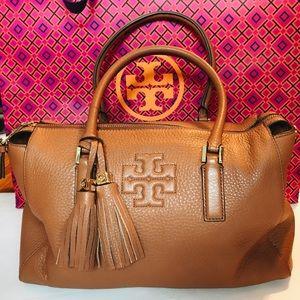 Tory Burch brown Thea purse