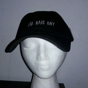 Bad hair day hat black