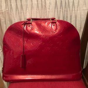 Handbags - Louis Vuitton Alma Vernis Monogram GM tote