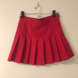 american apparel tennis skirt m