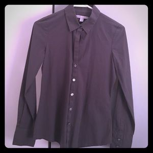 Dark gray Old Navy Blouse - WORN ONE TIME-Like NEW