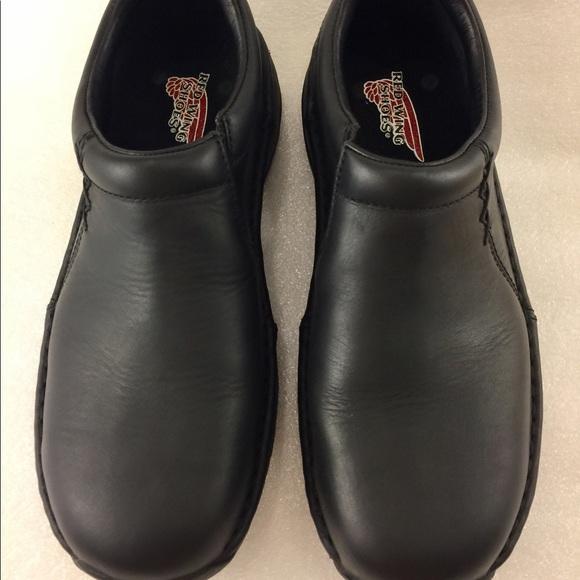 Red Wing Womens 8b Work Shoe Oil Slip