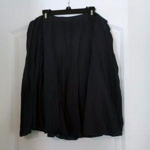 J. Crew Navy Blue Skirt
