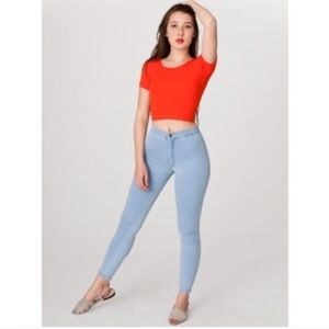 American Apparel Easy Jeans in Medium Wash