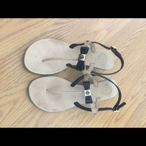 Toryburch wedge sandals size 6