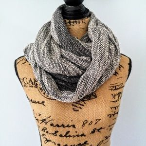 XL Thick Woven Infinity Scarf