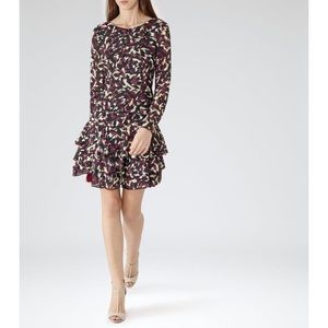Reiss Printed Dress