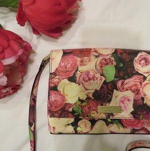 Kate Spade Floral Grant Street Print Crossbody Bag