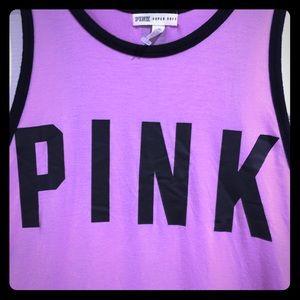 Victoria's Secret pink large tank top