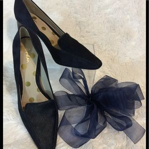 New Navy Blue Boden Pumps