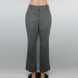 Ann Taylor Black & White Curvy Dress Pants - 10