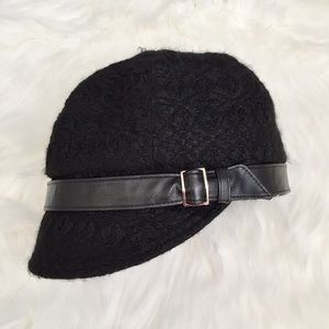 Black Cloche Hat by San Diego Hat Company