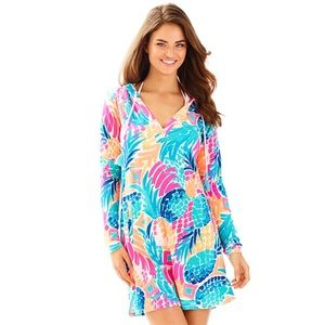 Lilly Pulitzer Rylie SPF Hoodie Cover Up