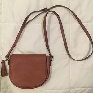 Pleather Crossbody Purse