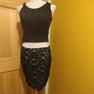 Sexy Little Lace Skirt