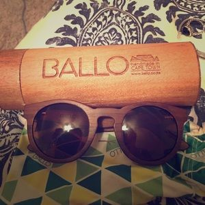 Ballo Handmade Wooden sunglasses
