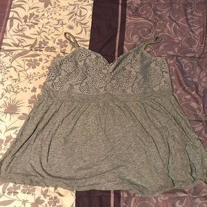 Torrid jersey knit tank top
