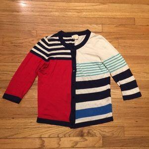 Kate Spade color block cardigan sweater - Small