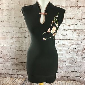 Forever 21 Embroidered Mini Dress