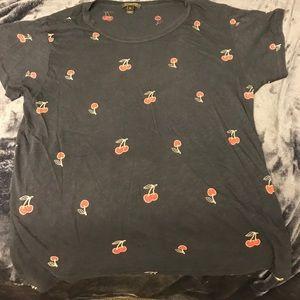 J. Crew Cherry T shirt